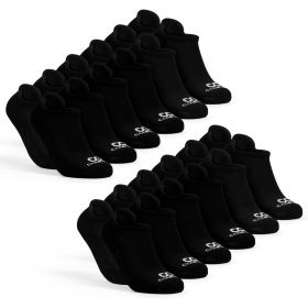 Mens Low Cut Socks Pack, 12-Pairs