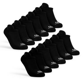 Mens Low Cut Socks Pack, 6-Pairs