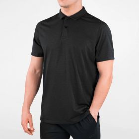 Men's HydraVent Polo Shirt Black