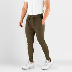 MEN'S HYDRAFIT JOGGERS FOR ACTIVE LIFESTYLE OLIVE