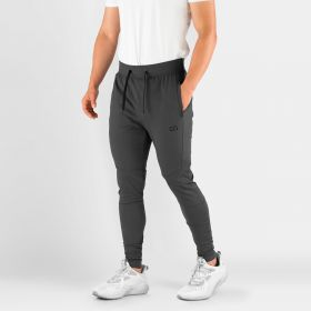 MEN'S HYDRAFIT JOGGERS FOR ACTIVE LIFESTYLE GRAY