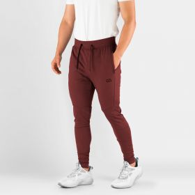 MEN'S HYDRAFIT JOGGERS FOR ACTIVE LIFESTYLE MAROON