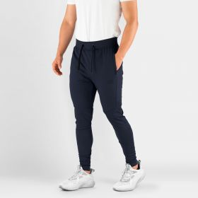 MEN'S HYDRAFIT JOGGERS FOR ACTIVE LIFESTYLE NAVY BLUE