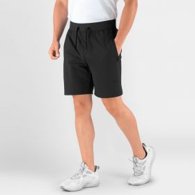 Men's Hydrafit Workout Shorts, Black