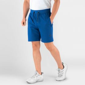Men's Hydrafit Gym Shorts, Navy Peony