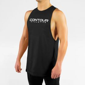 Men's Bodybuilding Muscle Tank Top V1 Black