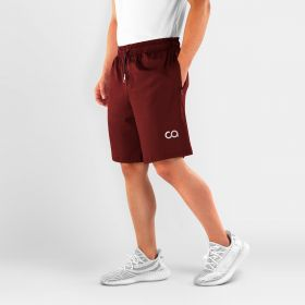 Men's Roman Workout, Running Shorts, Maroon