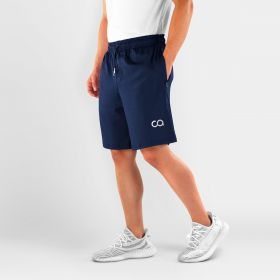 Men's Roman Workout, Running Shorts, Navy